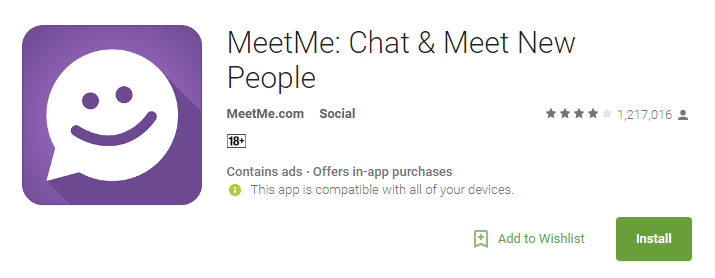 Meetme app for pc